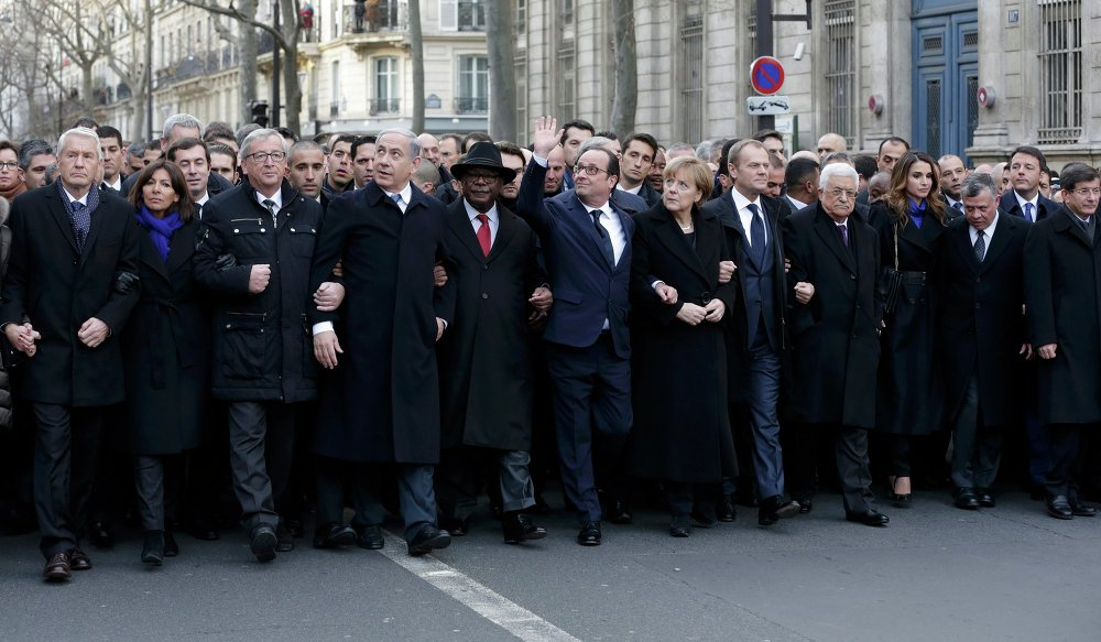 Je Suis Charlie: Paris Unity March in Pictures