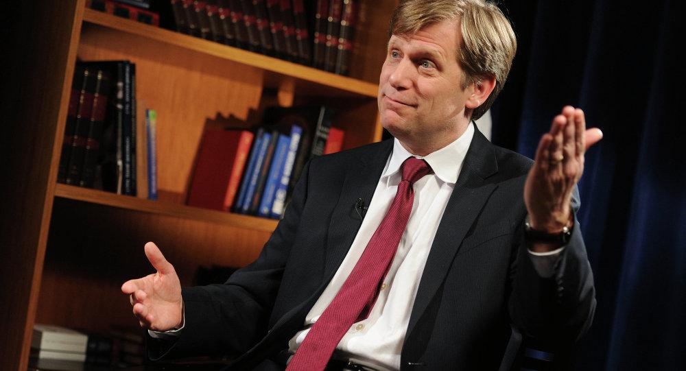 Ex-US Ambassador to Russia Michael McFaul