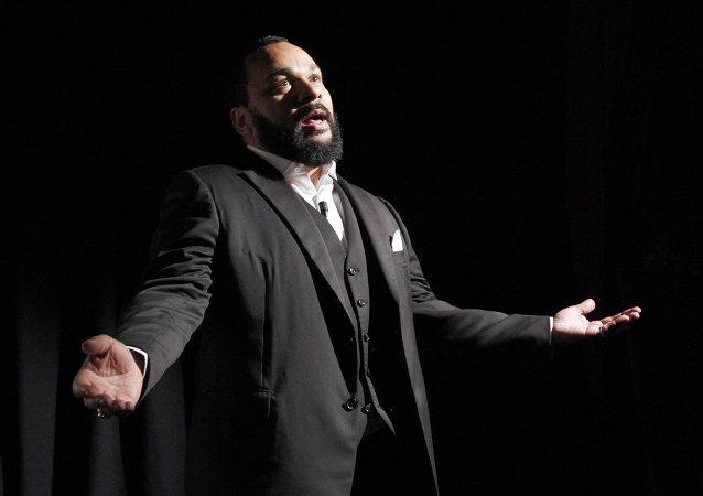 French comedian Dieudonne M'bala