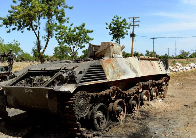 Boko Haram's tank