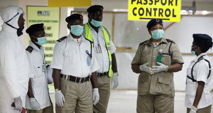 Sierra Leone's Lungi International Airport has tested disease-screening measures after a case of Ebola contagion was confirmed among its workers: IOM