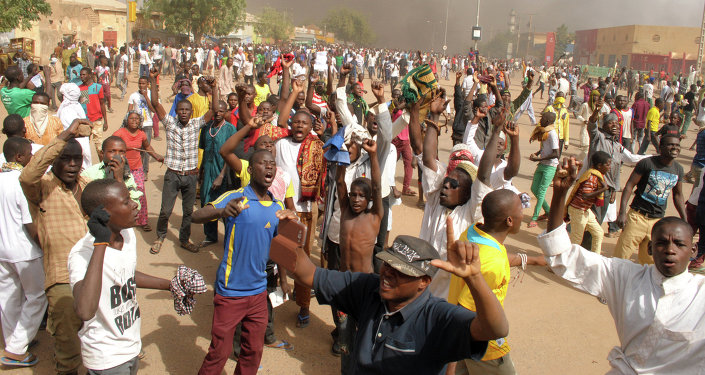 Anti-Charlie Hebdo protests in Zinder