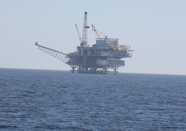 Oil Platform in the Santa Barbara Channel