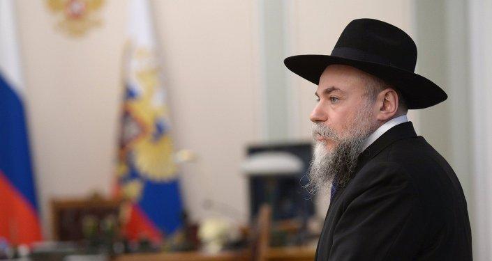 Head of the Federation of Jewish Communities of Russia Alexander Boroda