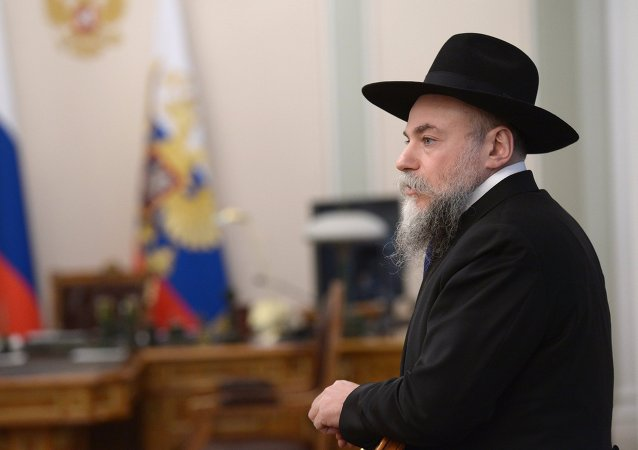 Head of the Federation of Jewish Communities of Russia Alexander Boroda