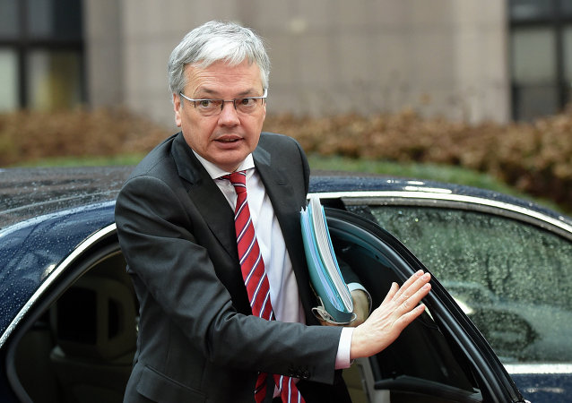 Belgian Foreign Minister Didier Reynders