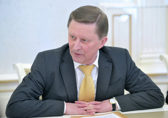 Kremlin Chief of Staff Sergei Ivanov