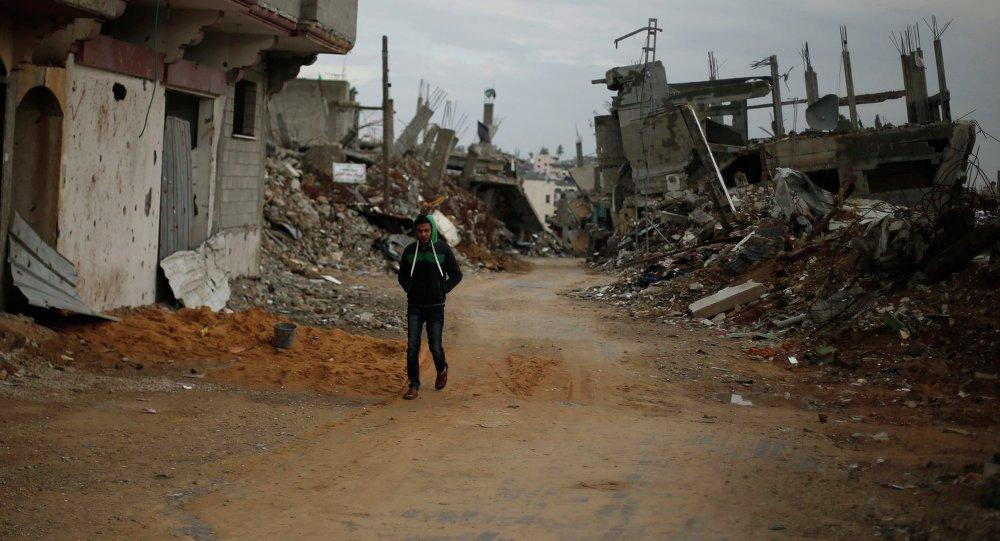 A Palestinian