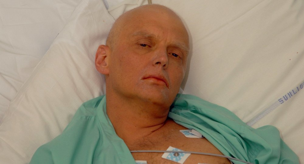 Alexander Litvinenko is pictured at the Intensive Care Unit of University College Hospital in London, England. (File)