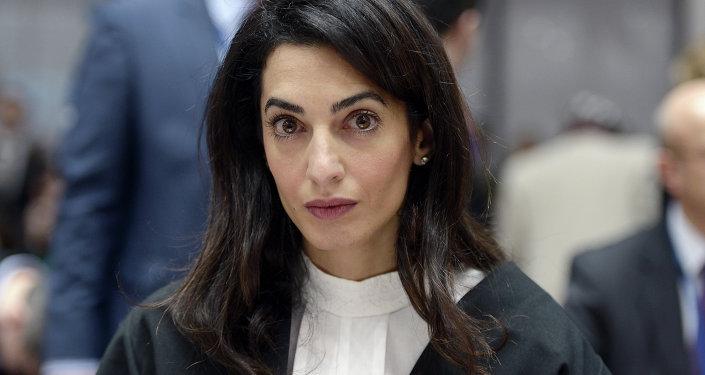 Lawyer representing Armenia, Amal Clooney