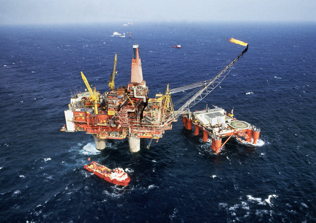 Atlantic Oil drilling