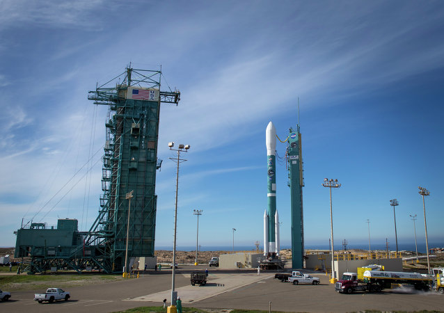 The United Launch Alliance Delta II rocket with the Soil Moisture Active Passive satellite onboard