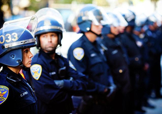 Riot Police, San Francisco, CA