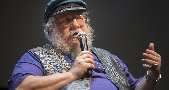 George R. R. Martin creator of the drama series Game of Thrones