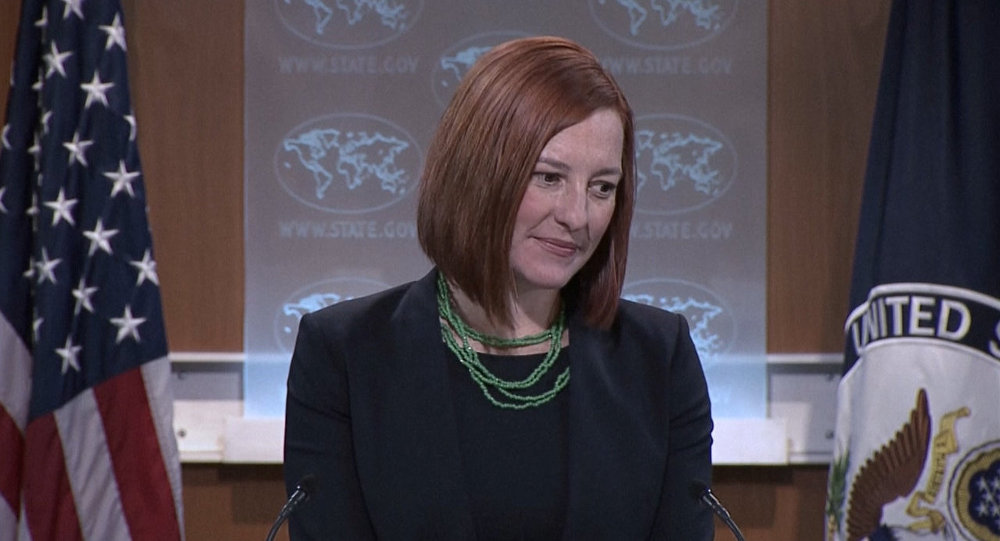 US Department of State Jen Psaki said that providing the Ukrainian army with lethal aid would not violate the Minsk agreement