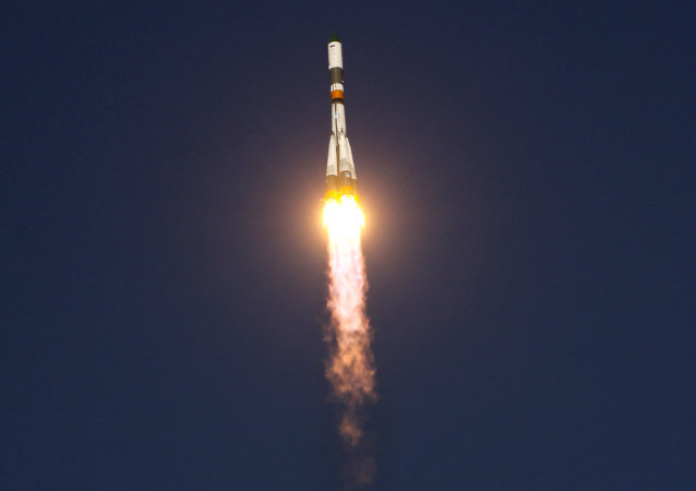 Russian carrier rocket Soyuz-ST with two EU satellites aboard was successfully launched