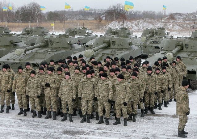 The U.S. military will deploy soldiers to Ukraine this spring to train the country's newly established National Guard.