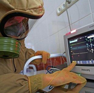 Ebola case response training