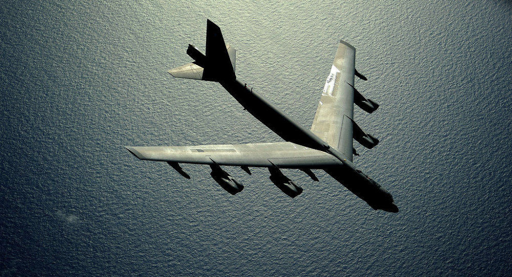 US B-52 Stratofortress strategic bomber