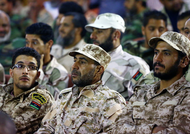 Libyan army's soldiers