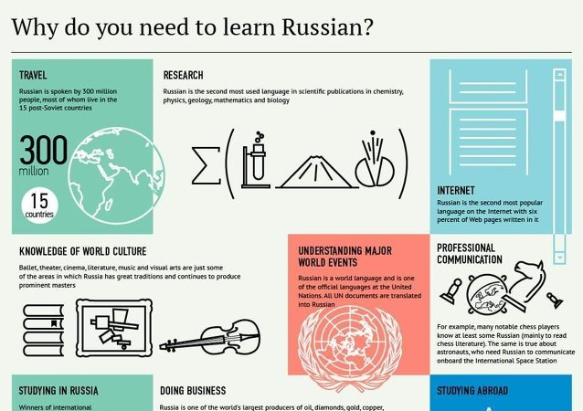 Why do you need to learn Russian?