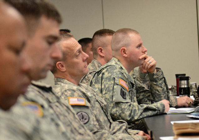 US military officers learn about due process and the Uniform Code of Military Justice