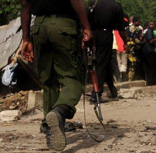 Nigerian troops against Boko Haram
