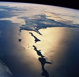 Habomai Rocks and Japan from space.