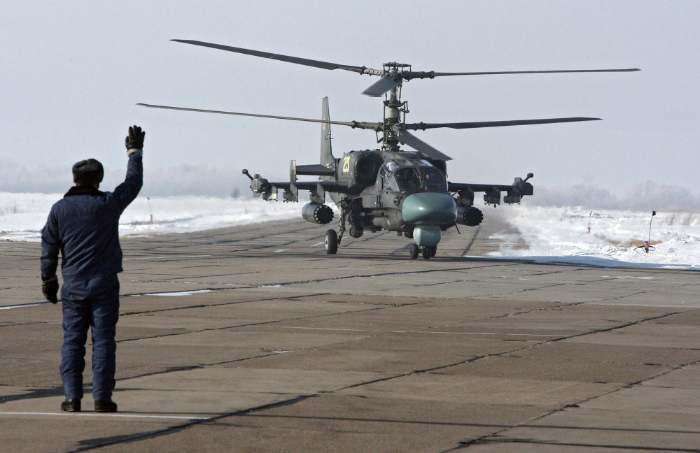 Ka-52 Attack Helicopter: Fly Like a Butterfly, Sting Like an Alligator