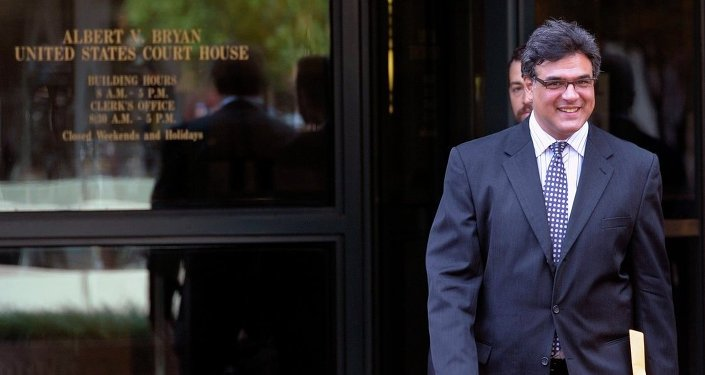 Former CIA officer John Kiriakou leaves U.S. District Courthouse in Alexandria, Va., Tuesday, Oct. 23, 2012, after pleading guilty, in a plea deal, to leaking the names of covert operatives to journalists.