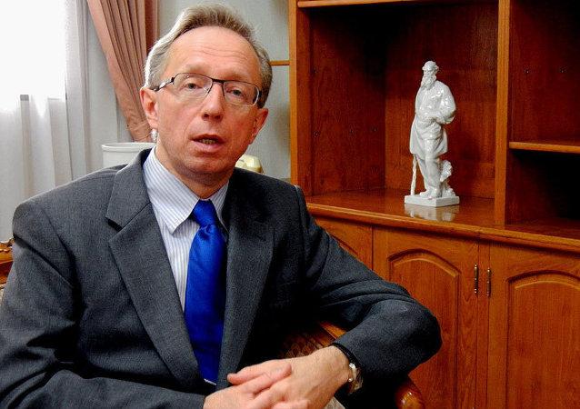 Russian Ambassador to Indonesia Mikhail Galuzin