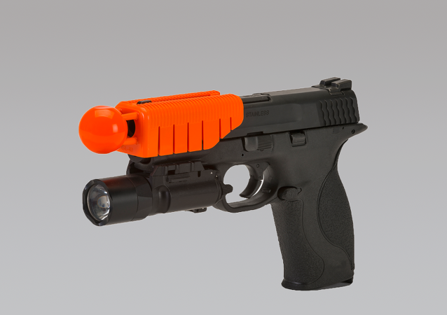 Alternative Ballistics Gun Attachment