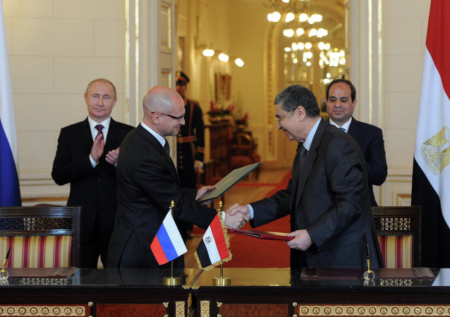 Russia is planning to construct four nuclear power plant units in Egypt, with the capacity of each reaching 1200 megawatts, head of Rosatom nuclear energy corporation Sergey Kirienko said Tuesday.