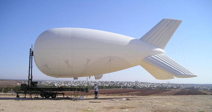 Large recon balloons originally meant to spot Taliban fighters are now searching for immigrants along the Rio Grande.
