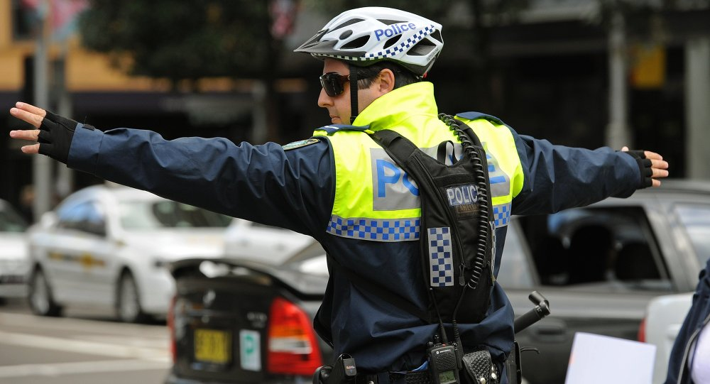 A member of the New South Wales police force