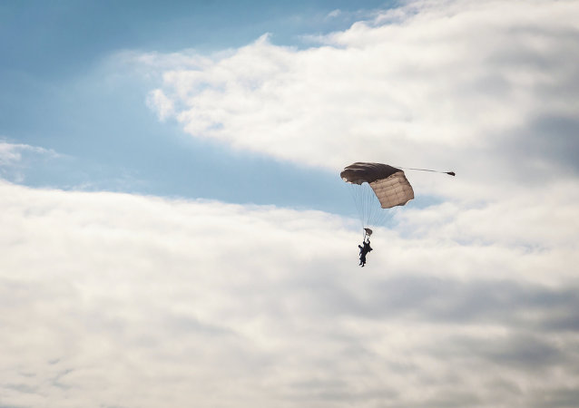 Skydivers luckily avoided collision with a plane in free fall