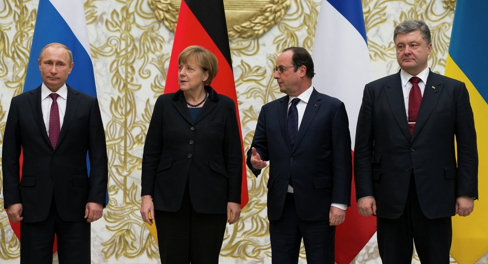 Normandy Group Reach Verbal Agreement On Ukraine Reconciliation