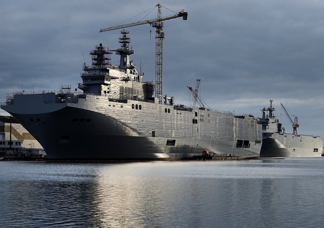 Mistral assault ships. file photo