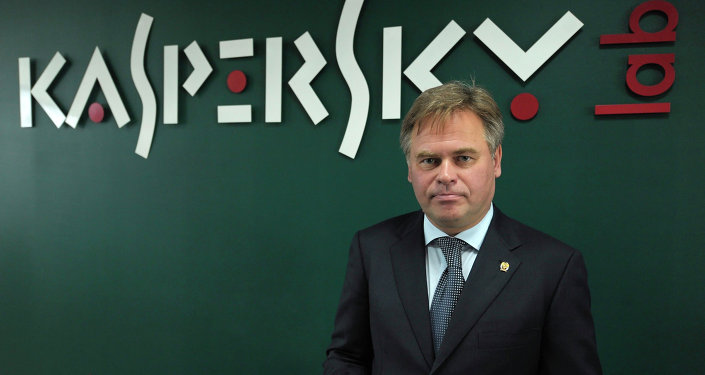 Yevgeny Kaspersky, CEO and co-founder of Kaspersky Lab, Europe's and Russia's largest anti-virus computer software producer, in the company's office