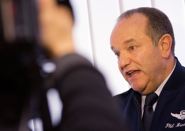 Supreme Allied Commander Europe U.S. General Philip M. Breedlove