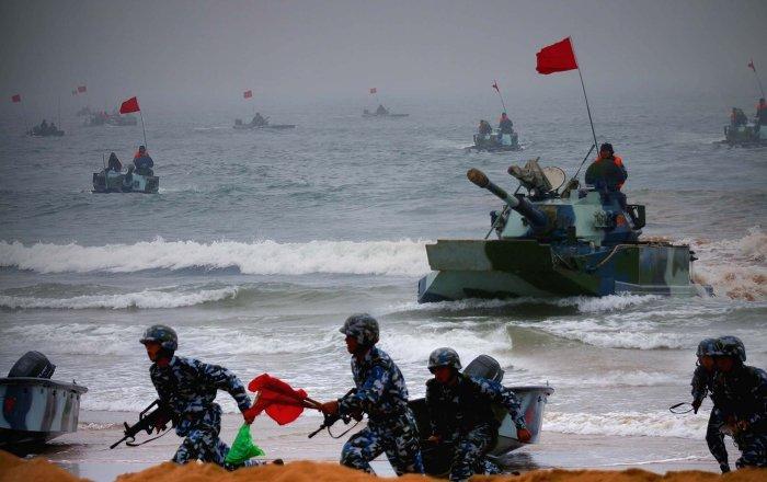 CHINA RUSSIA MILITARY