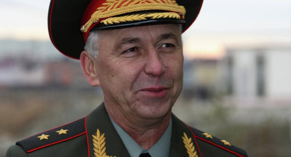 Russia's first deputy defense minister Arkady Bakhin