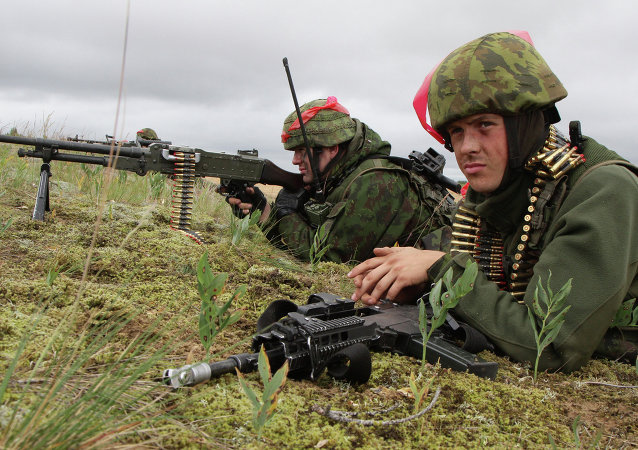 Lithuanian soldiers