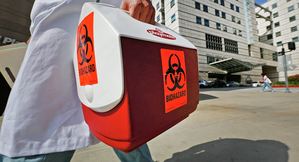 BioHazard Material UCLA Medical School