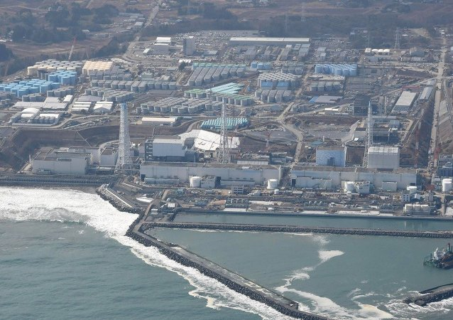 Sensors at the Fukushima nuclear plant have detected a fresh leak of highly radioactive water to the sea