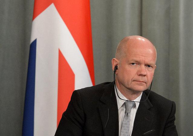 Britain's former Conservative Foreign Secretary William Hague