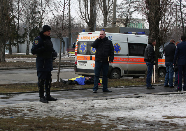 2 killed in explosion at rally in Kharkov