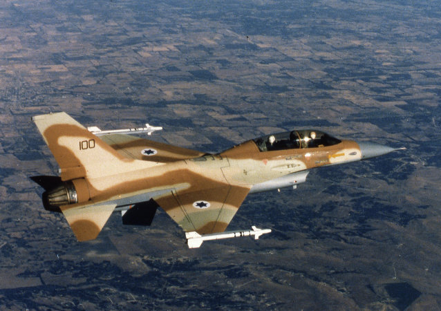 An Israeli Air Force F-16. File photo