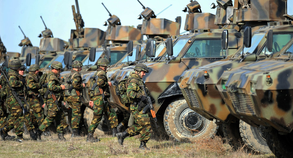 Macedonia and Bosnia Propose Joint Balkan Armed Force - Sputnik ...