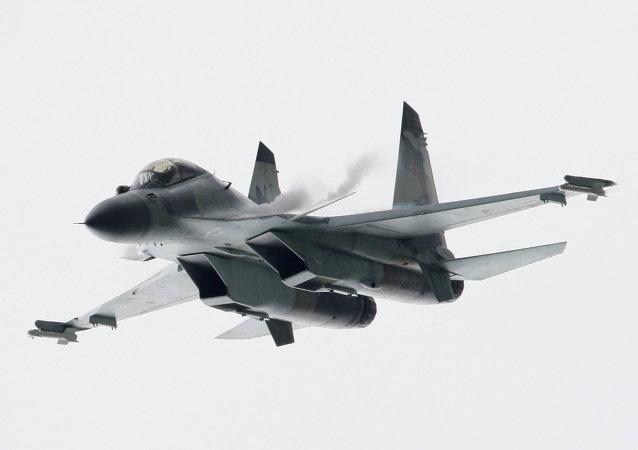 A MiG-29 SMT fighter jet